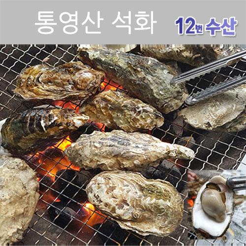 통영12번수산 통영 석화(각굴) [구이용 찜용], 10KG, 1box