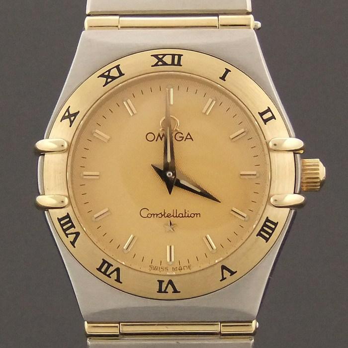 [뉴욕명품] Omega(오메가) 시계 25MM 컨스틸레이션 풀바 18K 콤비