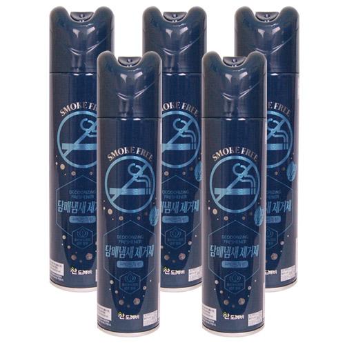 산도깨비 담배냄새_ 페퍼민트향 방향제, 5개, 300ml