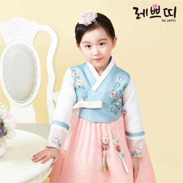 레쁘띠 GR649 꽃초롱 여아한복 아동한복-25-271755605