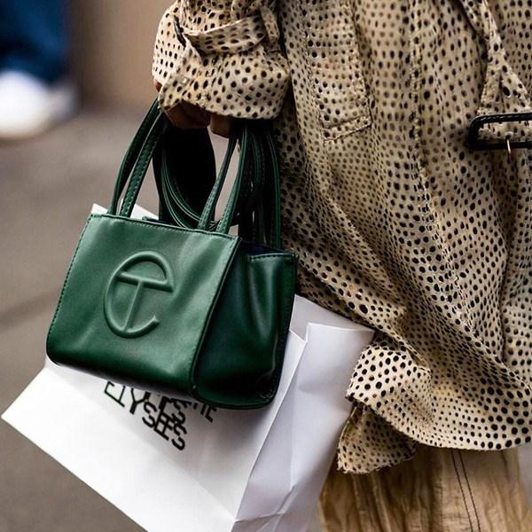 텔파 미국 디자인 미니 파우치 숄더 토트 쇼핑 쇼퍼백