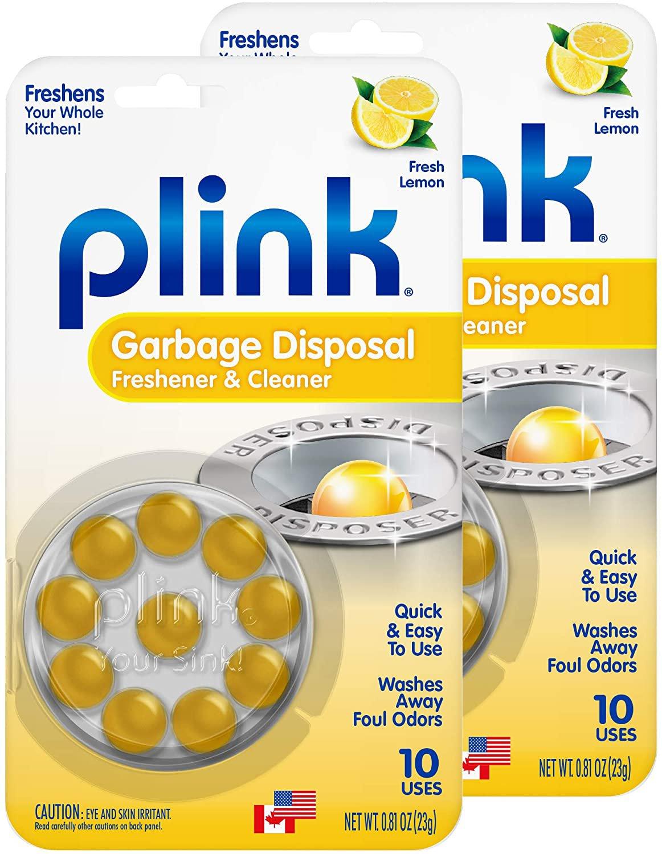 식기세척기세제 전용 린스 식세기 엘지 삼성 코스트코 밀레 Plink 9010AMZ 쓰레기 폐기자 청소기 및 탈취제 20 카운트 레몬