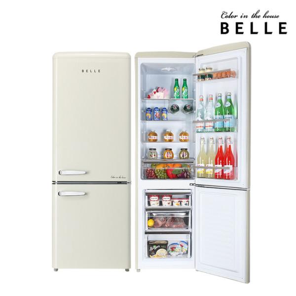 [벨] 레트로 냉장고 RC27ACM [270L/1등급], 상세 설명 참조