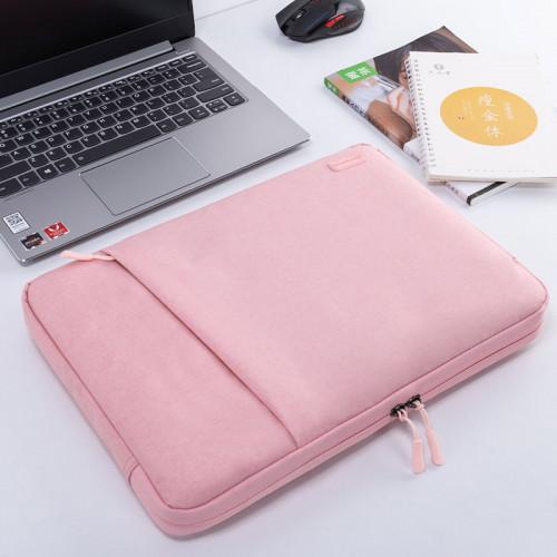 노트북 라이너 가방 레노버 15.6 인치 15 보호기 Y7000P Xiaoxin Air13 충격 방지 Pro13.3 보호 커버 14 가방 맥북 애플 맥 12 화웨이 ipad, 선택 = 15.6 인치 핑크