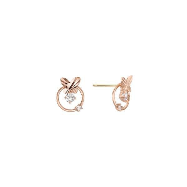 로이드 벨 스톤 귀걸이 10K 골드귀걸이