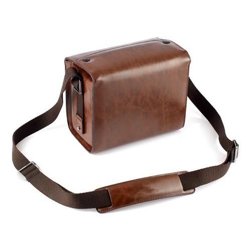 라이카 가죽 카메라 가방 미러리스 가방, 싱글 팩 다크 커피 (표준 없음)