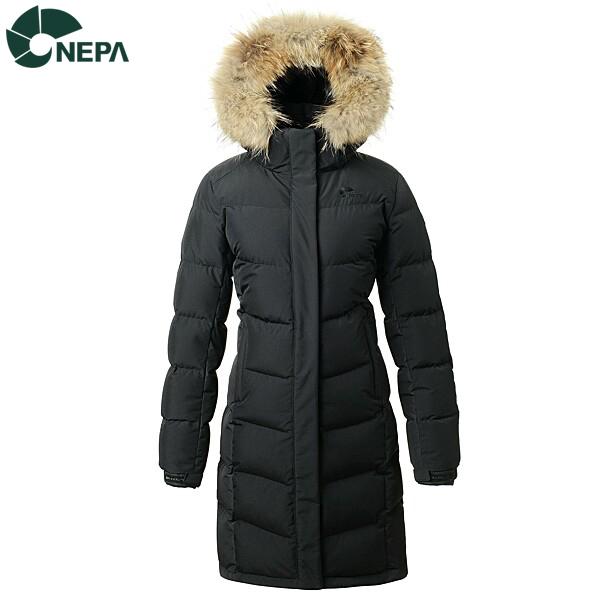 NEPA 네파 여성 코벤트윈드스토퍼 구스다운자켓 블랙 7E82008