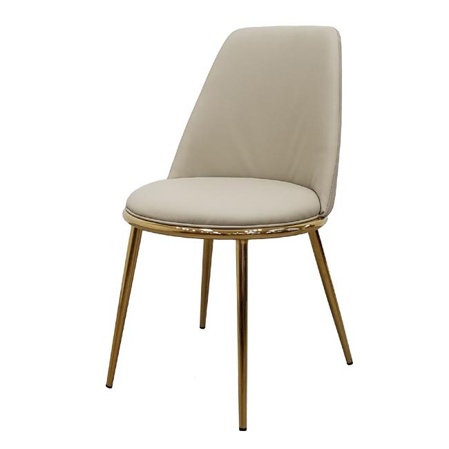 가구동네 골드 체어 예쁜 카페 인테리어 디자인 의자, 베이지