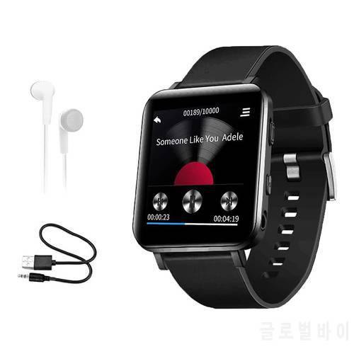 16GB 클립 MP3 플레이어 블루투스 스포츠 워치 MP3 플레이어 터치 스크린, 상세내용참조