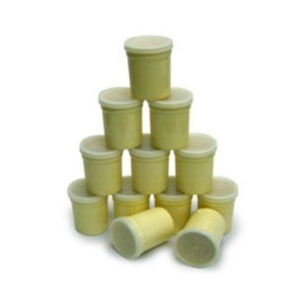엔유씨 요구르트 제조기 게르마늄컵 12개 1세트 도자기컵, NUC게르마늄컵12PS