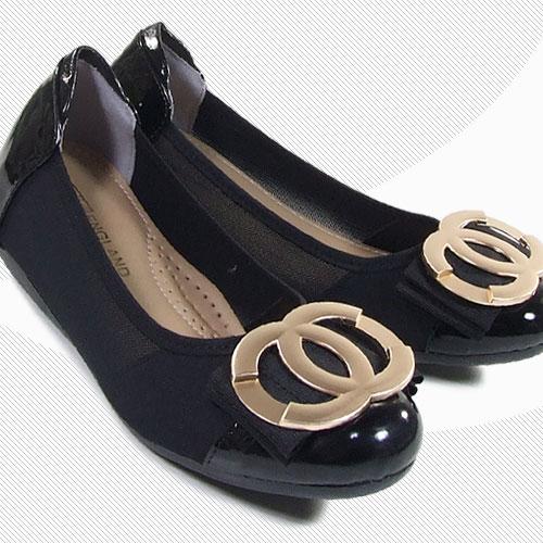 뮤즈몰 시원한망사 잉글랜드 여성구두 여자신발 (잉글샤넬망)