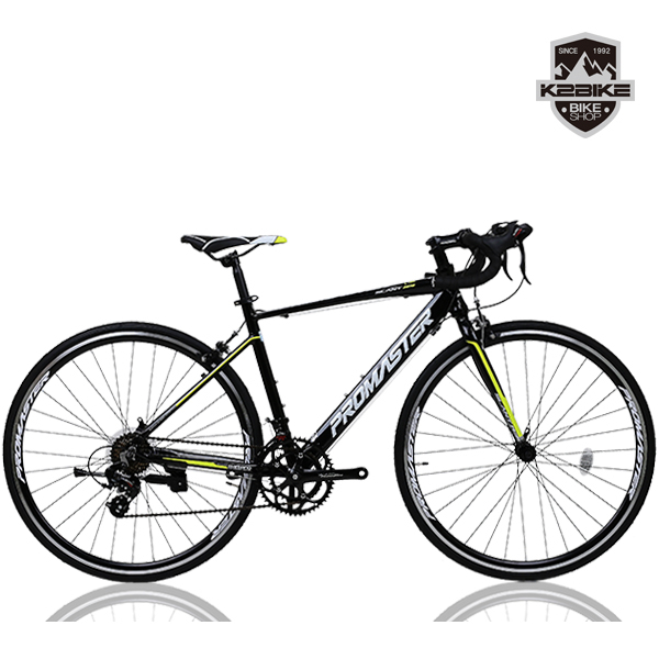 PROMASTER 2021 프로마스터 로드자전거 슬란트R3 700C 시마노14단 로드 자전거, 슬란트R3(490)블랙+그린 미조립+소형공구