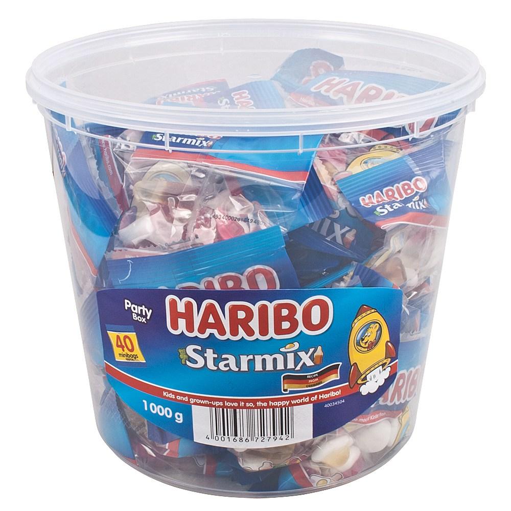 하리보 스타믹스 젤리 1kg 2통 부터, 1000g, 2개