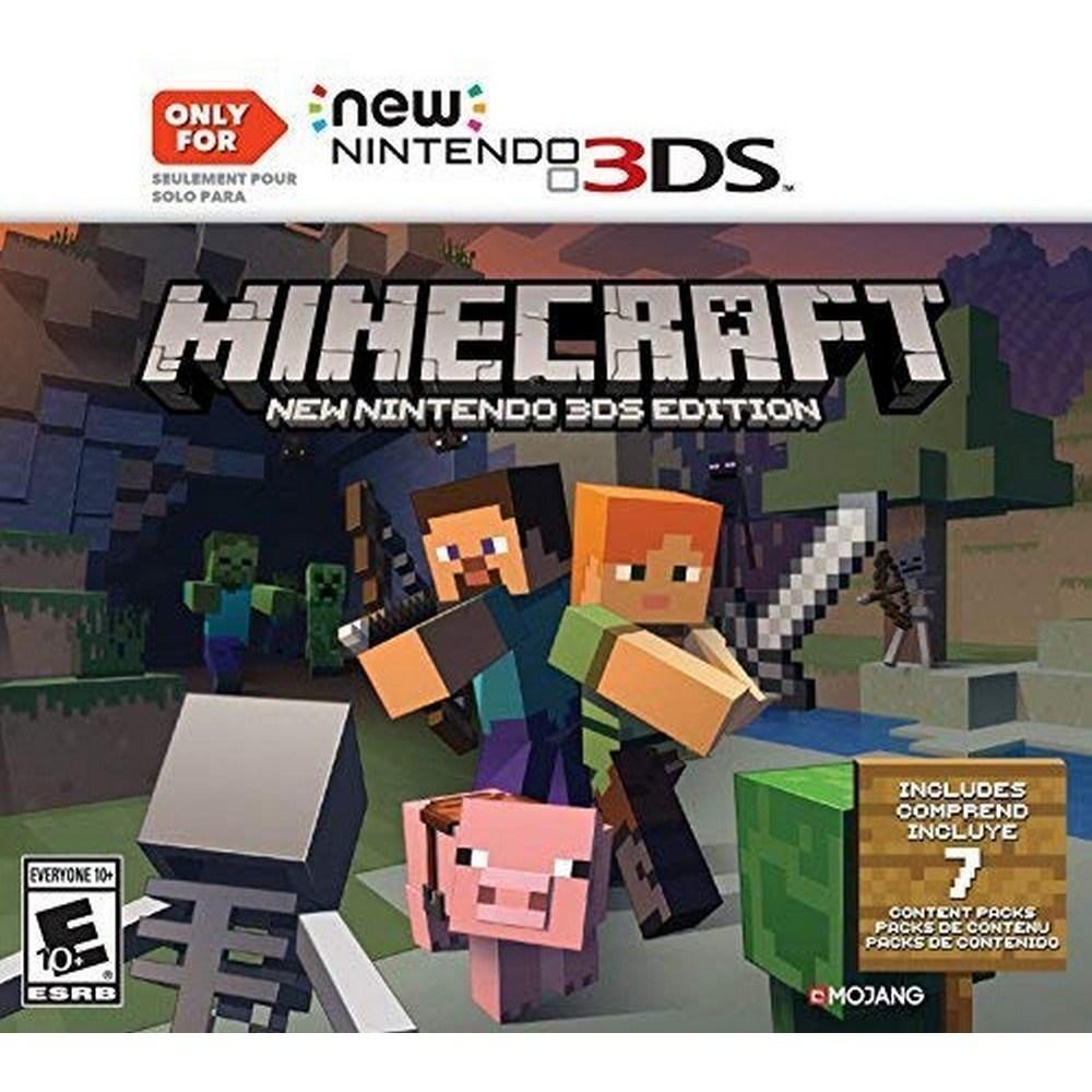 닌텐도 3DS 마인크래프트 북미판 Minecraft-10-1349584073