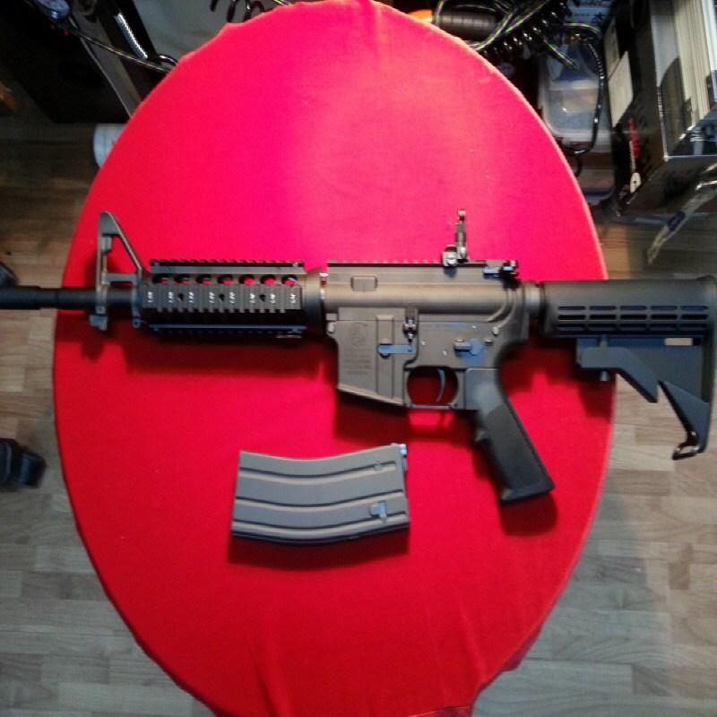 마루이 M4A1 MWS GBB특별행사 건케이스증정 GBB, 기본셋트(비비탄+가스2+비비로더+소염기)