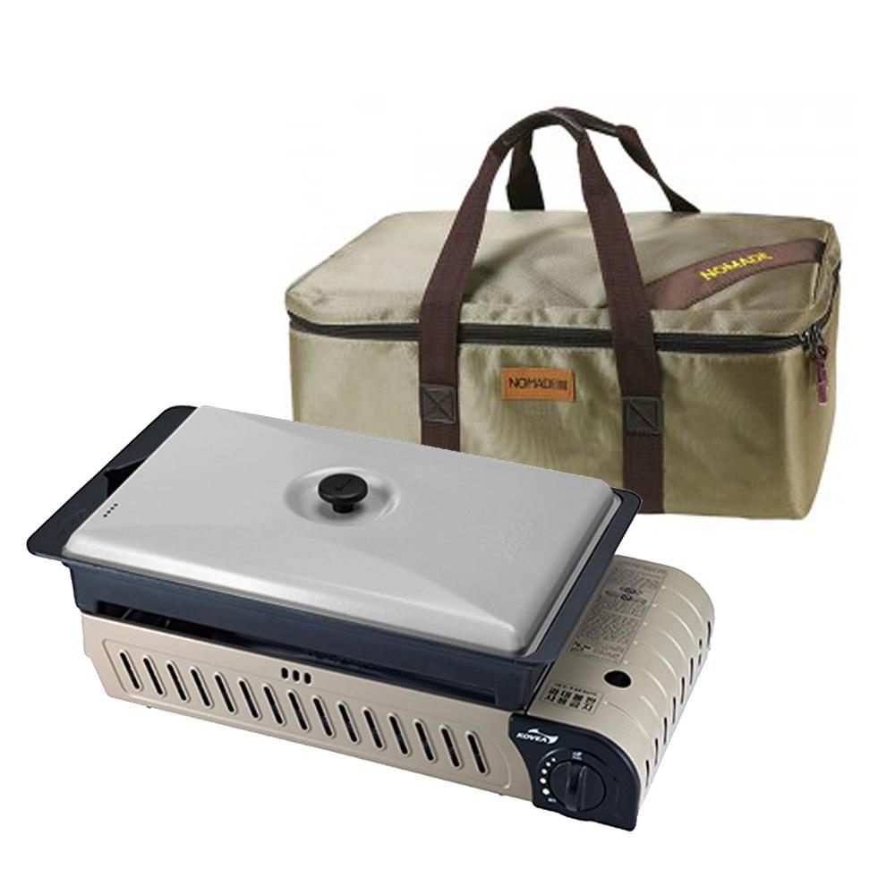 코베아 3웨이 올인원OL(L)+가방세트 신형 구이바다 3way BBQ그릴 그릴백 캠핑 버너, 02-올인원OL(L)+노마드 그릴백-7-1959991366