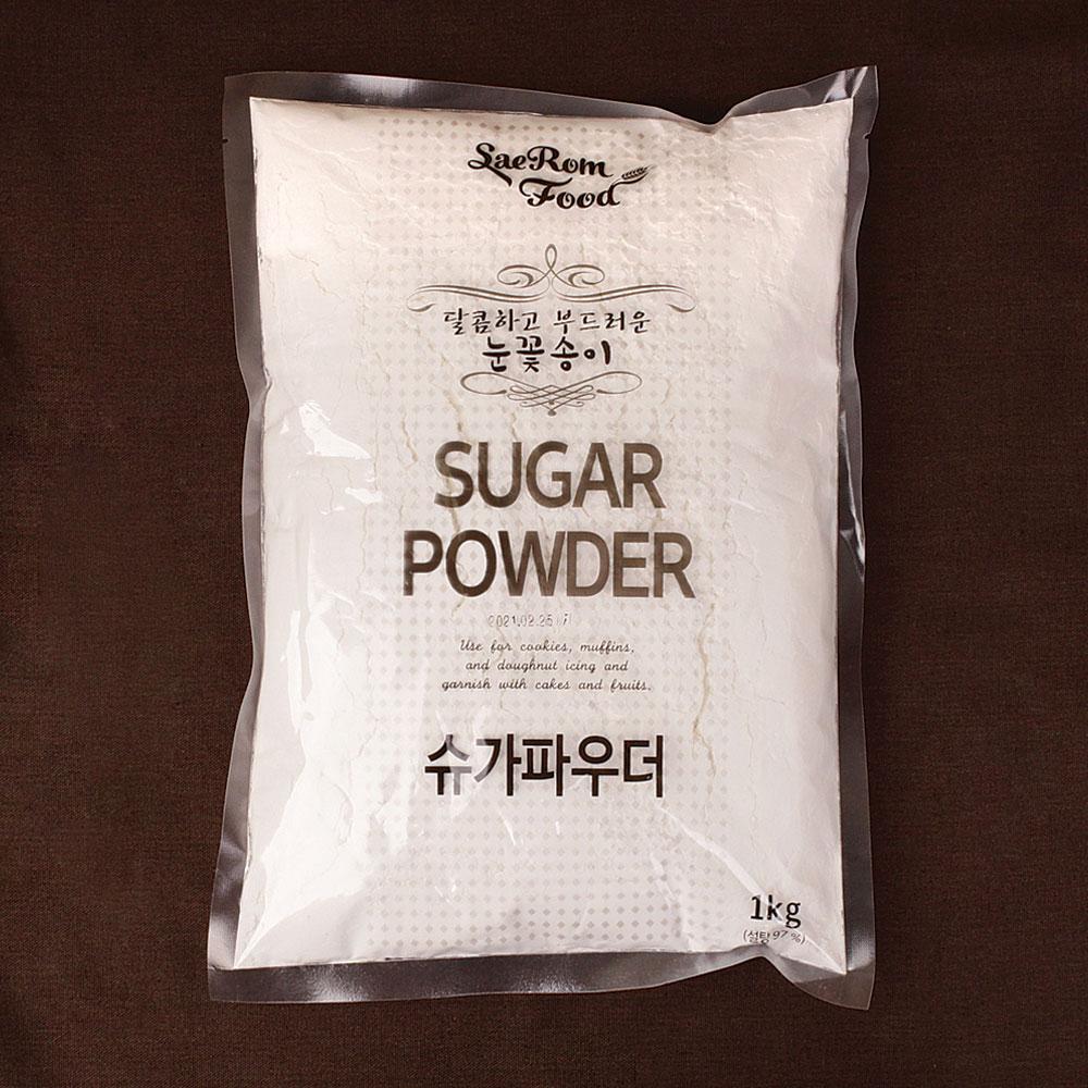 달곰베이킹 슈가파우더, 1개, 1kg