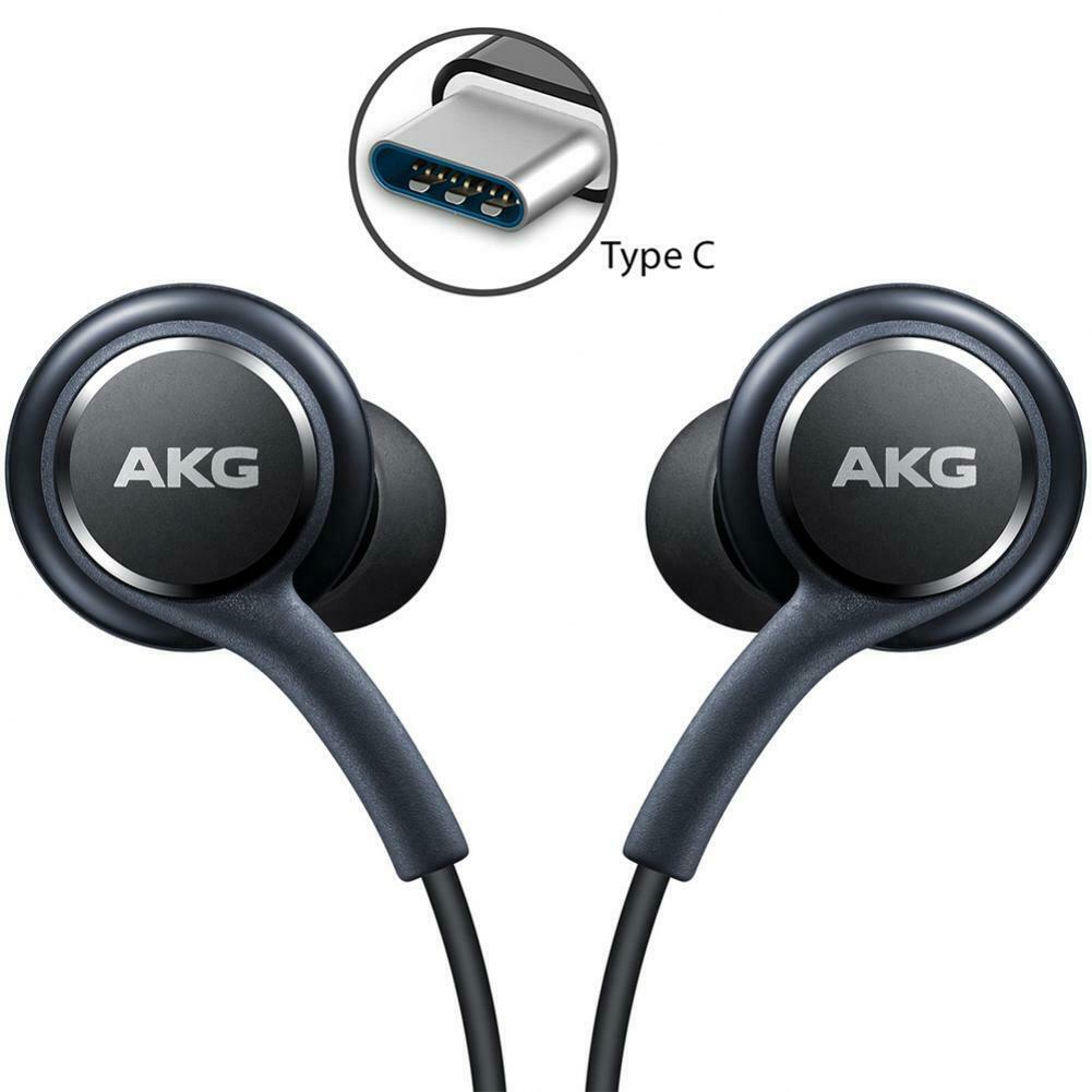 [정품] 삼성 AKG C타입 이어폰 갤럭시 S21 S20 10 10E 5G 노트20 10 10plus 5G, 블랙
