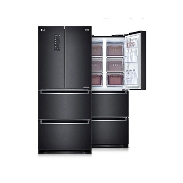 라온하우스 [LG전자] 프리미엄 김치냉장고_스탠드형 / 4도어(4룸) 용량: 402L 용기: 14개 냉장+냉동겸용 냉동겸용칸: 상칸 순환냉각 쿨링케어 유산균가드, 605280