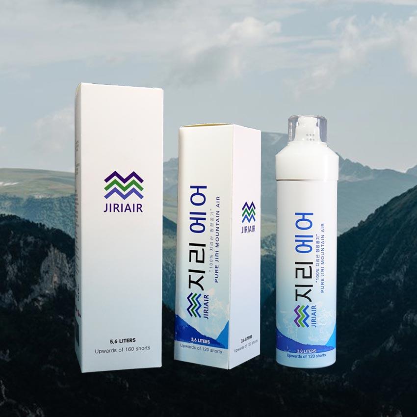 식약처 인증 공식 파트너 지리산 프리미엄 휴대용 공기캔 맑은공기 360ml, 2개(+7000) (POP 5710285308)