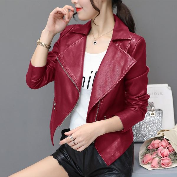 벨리타앤코 여성 가죽 자켓 PU 재킷 AR71