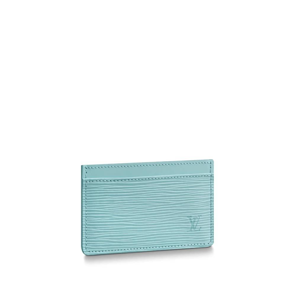 루이비통 지갑 카드홀더 에피 씨사이드 M69153