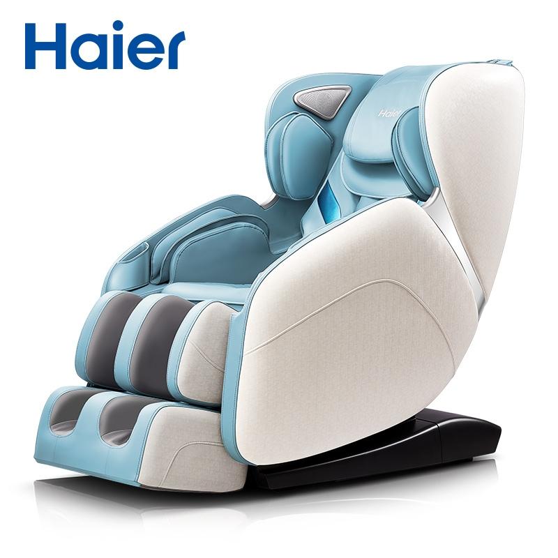 안마 의자 마사지 신민아 소형 미니 카페 가성비 기 Haier 海 er 홈 전신 자동, 푸른 (POP 4896295239)