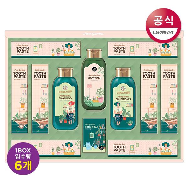 [LG생활건강]홈가드닝에디션 세트 x 6개 (한박스), 단일상품
