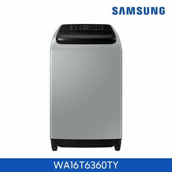 [삼성] 전자동 세탁기 16kg WA16T6360TY+스탠드 써큘레이터 2대, 단품