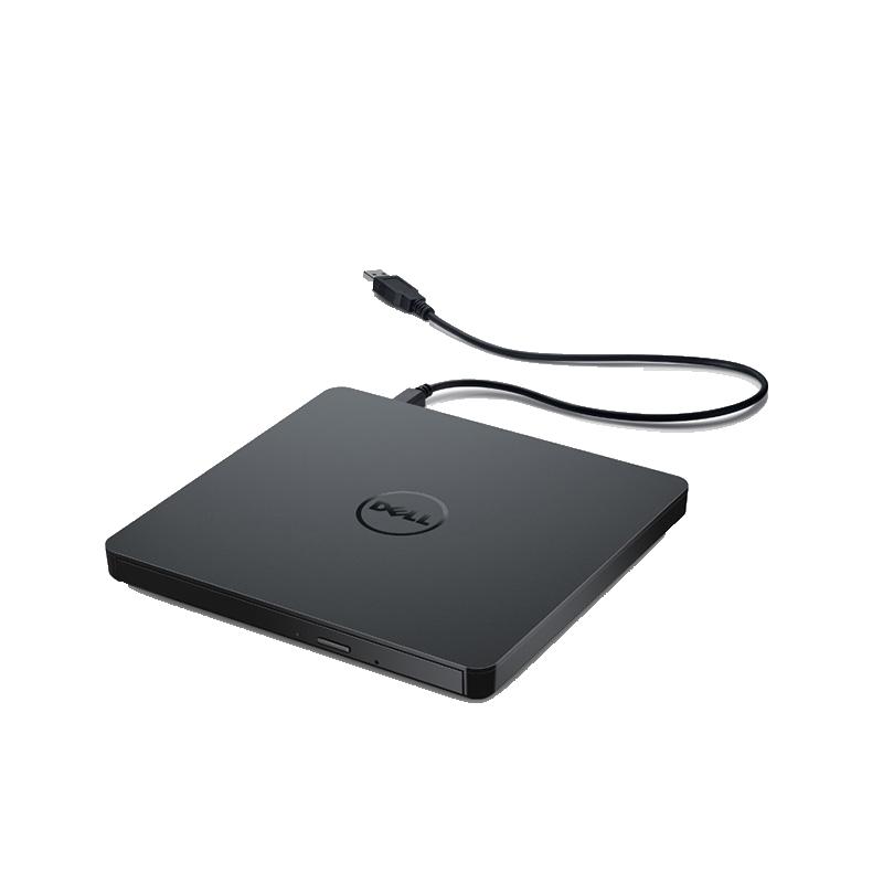 DVD콤보 Dell/USB초슬림 외장 DVD/CD필기노트 데스크톱 통용 CD굽기 외부연결 이동 CD롬, T01-델 CD롬