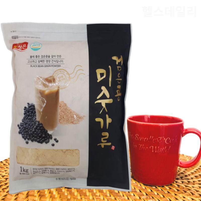 아침대용쉐이크 흑임자 식사대용 검은콩 선식 임산부 미숫가루 다이어 트리, 2kg