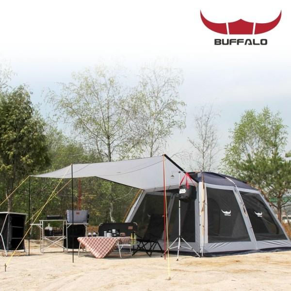 버팔로 버팔로 스크린 쉘터 텐트 6~7인용, free, 메가스크린쉘터
