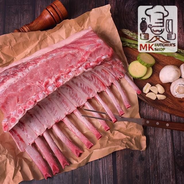 [국내산 한돈 1+등급] 냉장 토마호크 등심 스테이크(뼈등심) 한덩어리 300~350g, 1팩, 한덩어리(300~350g)