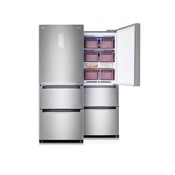 라온하우스 [LG전자] 프리미엄 김치냉장고_스탠드형 / 3도어 용량: 327L 용기: 10개 냉장+냉동겸용 냉동겸용칸: 상칸 순환냉각 쿨링케어 유산균가드, 605278