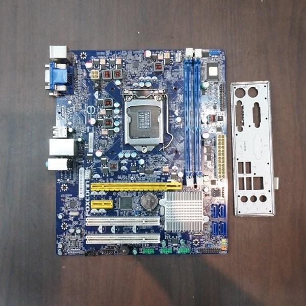 폭스콘 메인보드 H61MX V2.0 DDR3 1155 H61 3세대 아이비지원, 중고