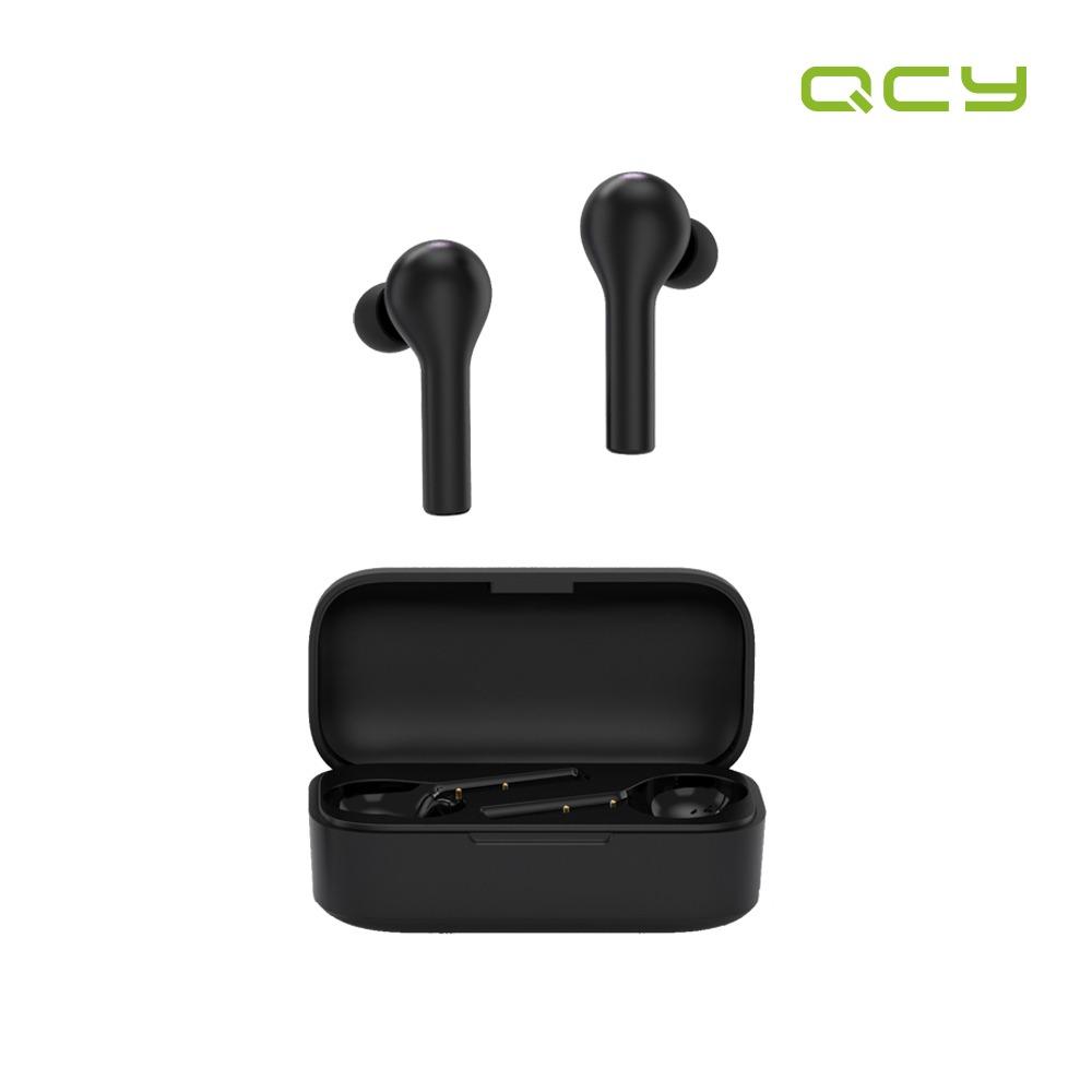 국내정품 QCY T5 APP 무선 블루투스 이어폰 블랙