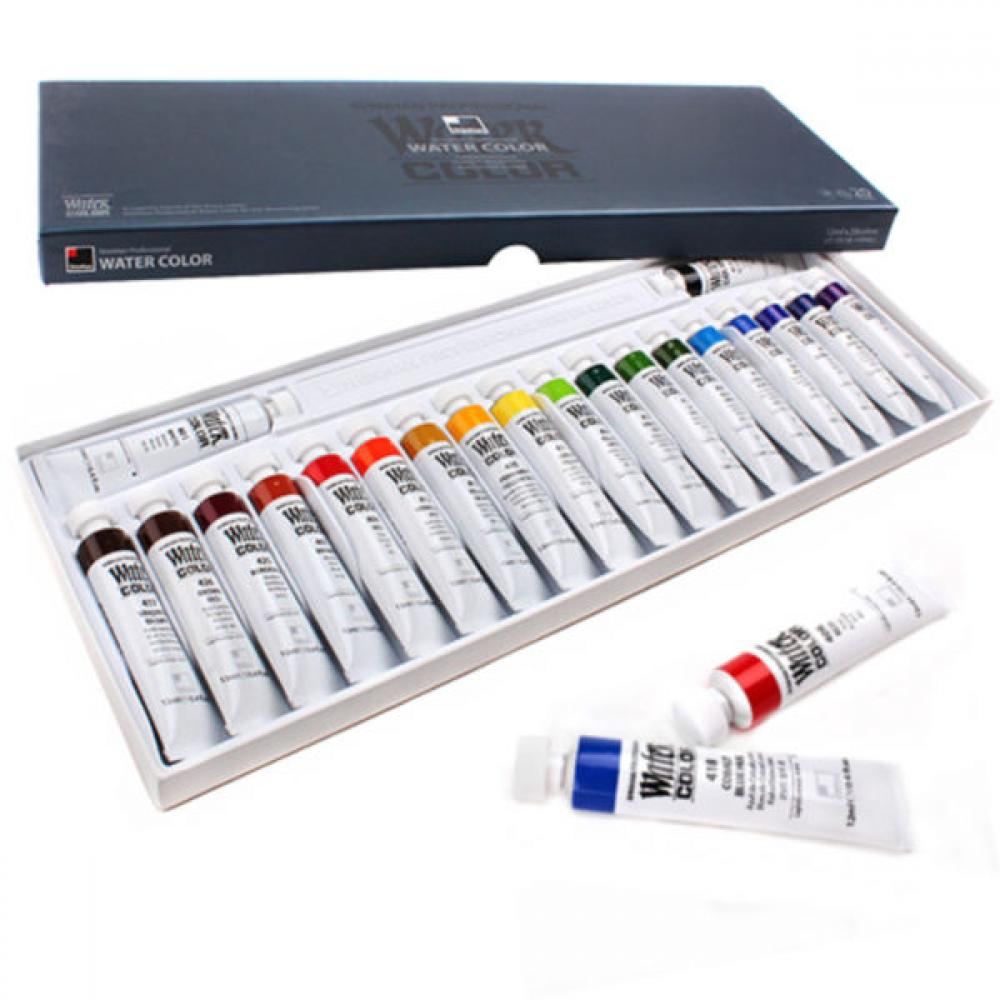 HP 신한 수채화물감 20색 (전문가용), 단일상품(WKV9080)