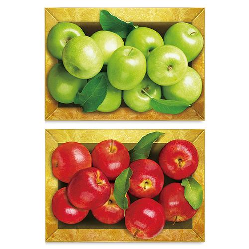 디데코 돈들어오는 황금 상자 청 사과 풍수 집들이 개업 선물 인테리어 그림 액자, 황금상자 (홍)사과