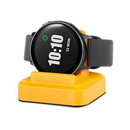 무선 충전 Dock Replacement 충전기 for 삼성 겔럭시 시계 Active(40mm) sm-r500n 블랙 야간 블랙 PROD1730, Duck Yellow, 상세 설명 참조0