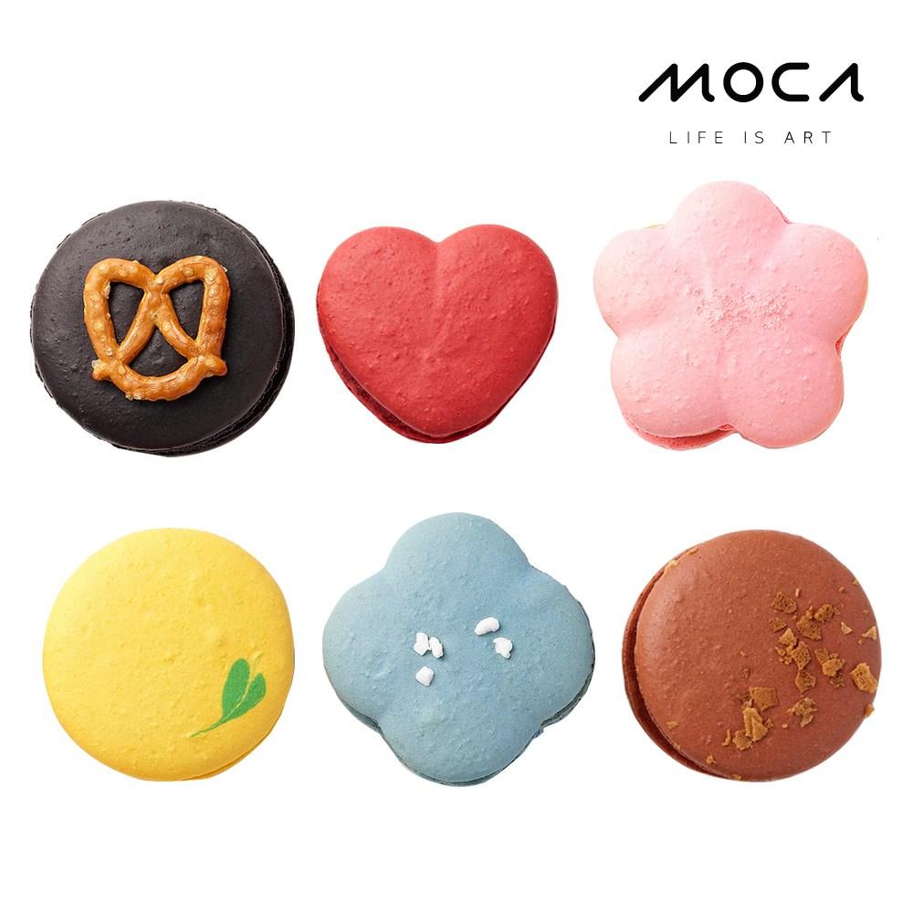 모카엔코 디자인마카롱 6종세트 마카롱 디저트 케이크 빵 배달, 1개
