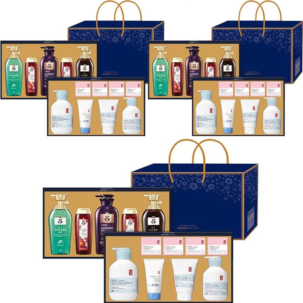 아모레퍼시픽 사랑행복두배 선물세트(2단) + 선물용가방, 3개