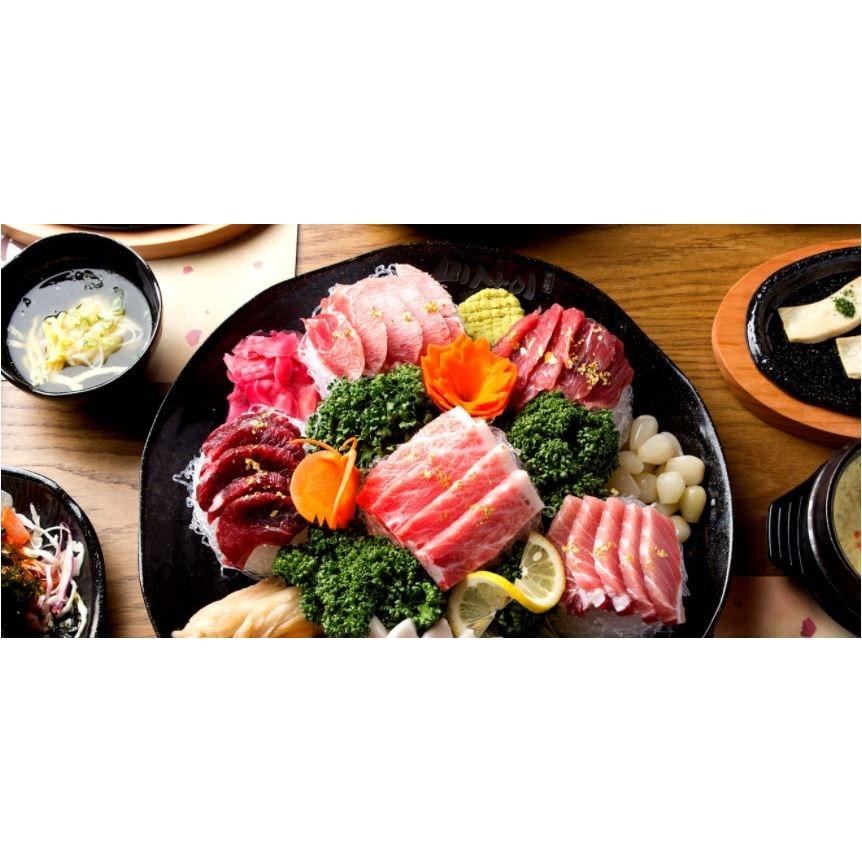 [요리하는남자들] 오마카세 홈마카세 프리미엄 간편 슬라이스형 참치회 200g 400g 800g 참다랑어 배꼽살 대뱃살 중뱃살 눈다랑어 속살 곁들이포함, 400g (2인용)