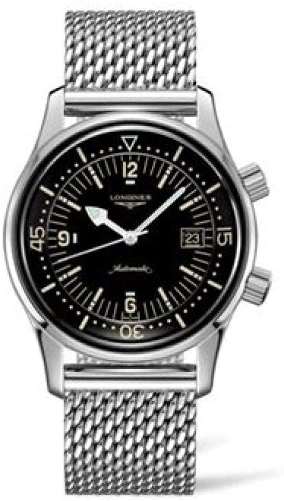 (관부가세포함) Longines Legend Diver Automatic Mens Watch L3.774.4.50.6-B07KSKHYXC