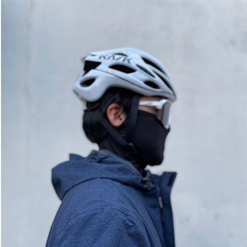 소소한 라이프 자외선 차단 초경량 냉감 멀티 마스크 메쉬 귀에 거는 흘러내리지 않는 귀걸이형 귀달이형 썬 스크린 멀티마스크 자전거 골프 등산 낚시 피부 보호, 검정
