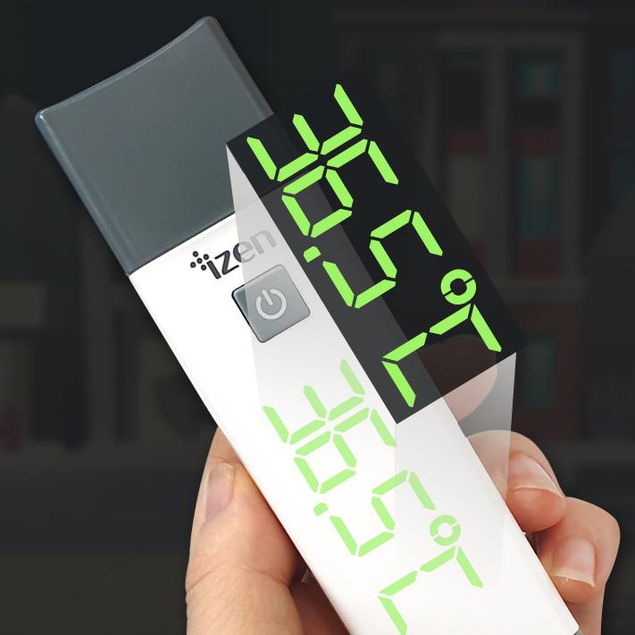 [3종사은품물] 국산 비접촉 체온계 아이젠 비접촉식 약국 디지털체온측정기 귀체온계 국내 AS, 아이젠체온계+3종사은품
