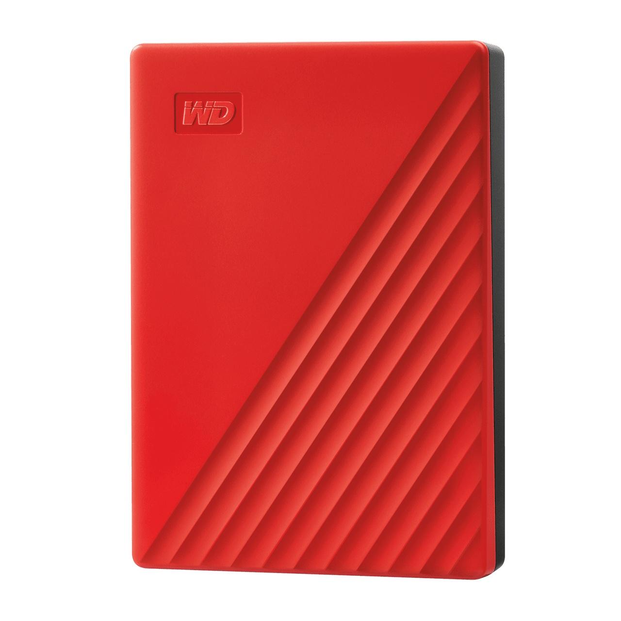 WD 마이 패스포트 모바일 드라이브 USB 3.0 외장하드 2.5인치, Red, 5TB