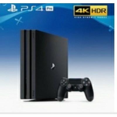 소니 PS4 플스4 프로 PRO 블랙 7117 1TB 한국정발 박스셋 중고