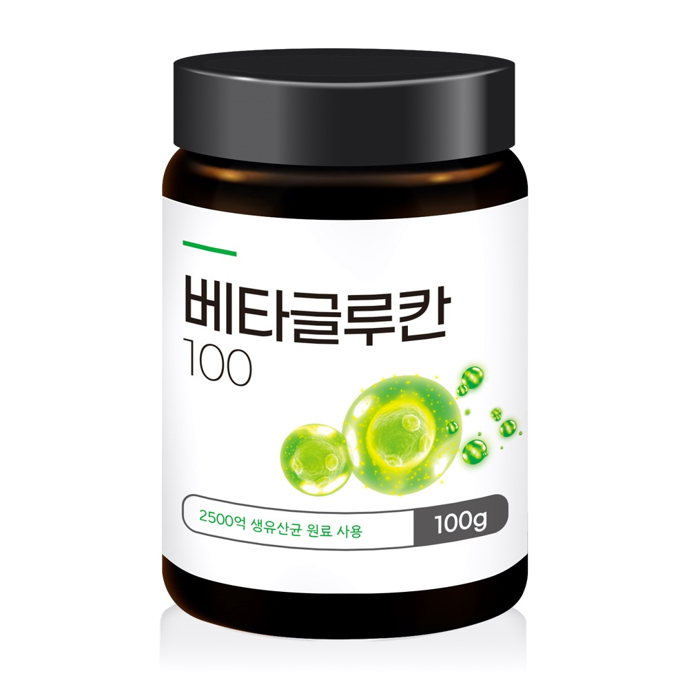 베타글루칸 발효효모 100% 면역력높이는영양제 100g, 1통