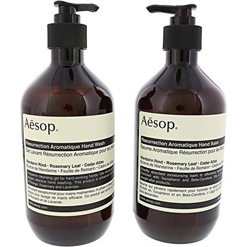 핸드크림 Aesop Less Rection Duet Hand Wash Hand Balm, Size = 16.9, 본문참고, 본문참고