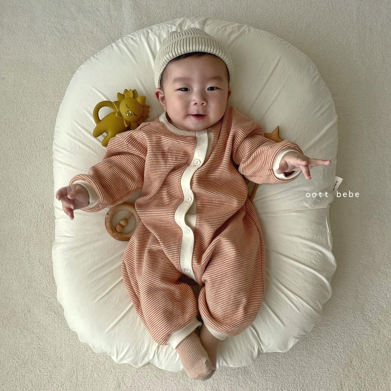 콩알옹알 트러플 우주복 아기 50일 100일 촬영 신생아 봄 출산선물 전신 바디슈트